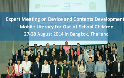 Expert Meeting on Device and Contents Development: Mobile Literacy for Out-of-School Children