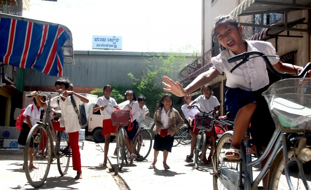 What Does A Bicycle Mean For A Student At Children For Change