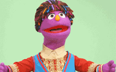 New girl on the block: Sesame Street introduces 6-year-old Afghan puppet girl called Zari