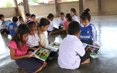 Joyful early childhood learning in classrooms of Laos