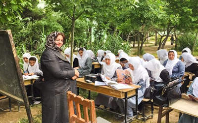 Strong teachers are stepping up to educate girls in Afghanistan