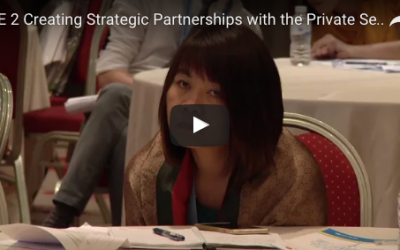 14.7 Creating Strategic Partnership with the Private Sector