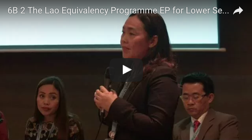 13.1.2 The Lao Equivalency Programme (EP) for Lower Secondary