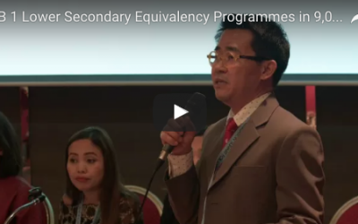 13.1.1 Lower secondary Equivalency Programmes in 9,000 CLCs (Thailand)