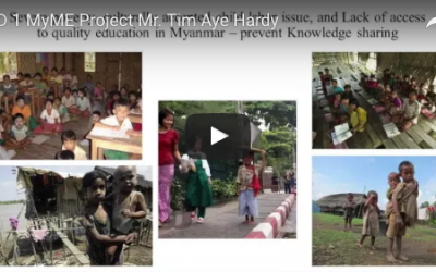 10.1 MyME Project: Providing Non-formal Education and Vocational Training for Underprivileged Working Children and Youth