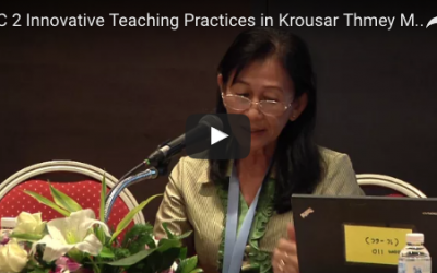9.5 Innovative teaching practices in Krousar Thmey (New Family)