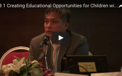 9.1 Creating Educational Opportunities for Children with Special Needs: Inclusive education in Thailand