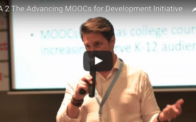 7.1 The Advancing MOOCs for Development Initiative: Online learning for workforce development