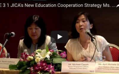 4.8 Providing More Opportunities for Learning: JICA's new education cooperation strategy