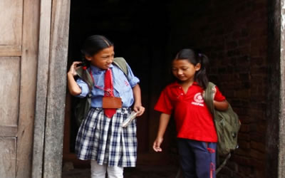 Inspiring Nepali girls to take control of their lives