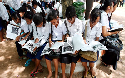 Cambodia hopes to revolutionise its outdated education system