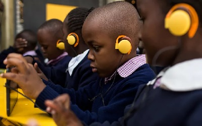 Kenya's tech startups trial digital classrooms in drive for literacy