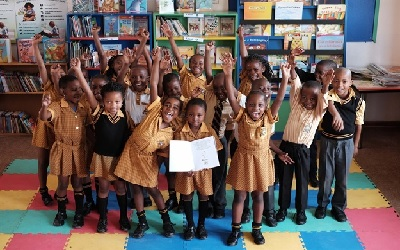 South Africa: Canon partners Room to Read literacy program