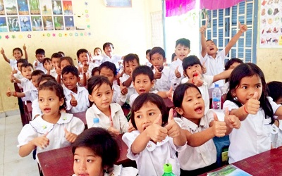 Cambodia: Inclusive education helps children thrive