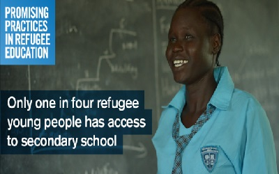 Crowd sourcing solutions to the challenges of refugee education