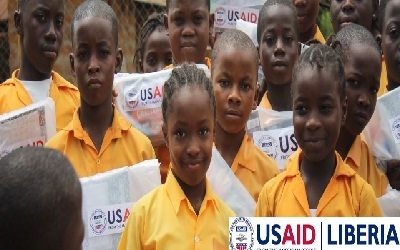 USAID Doles Out US$33.9M to Education Development in Liberia, Targeting Out-of-School Activity