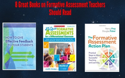 8 great books on formative assessment