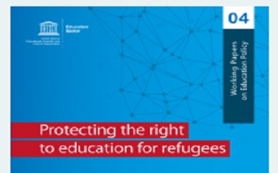 Protecting the right to education for refugees – Working Papers on Education Policy 04