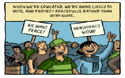 Why we should increase peace-building capacities of Teachers and Youth