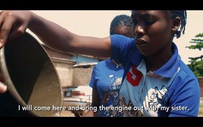 Nigerian girls often still drop out of school to work, despite the country's increasing wealth