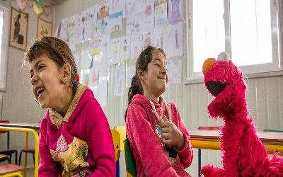 The IRC and Sesame Workshop bring education and hope to refugee children