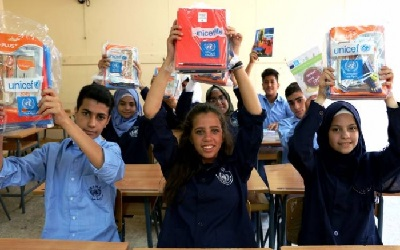 UNRWA and UNICEF – Supporting the Education of Palestine Refugee Children in Lebanon