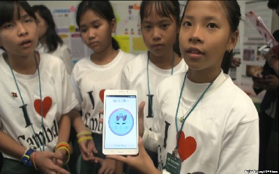 Cambodian Girls, in Silicon Valley, Inspire a New Generation of Tech Enthusiasts