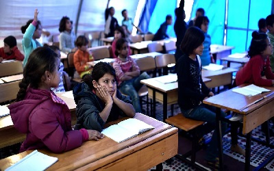 Number of Syrian Refugee Children Not Attending School Grows by 30% Since 2016
