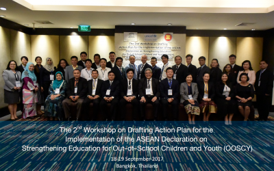 The 2ⁿᵈ Workshop on Drafting Action Plan for the Implementation of the ASEAN Declaration on Strengthening Education for Out-of-School Children and Youth (OOSCY)