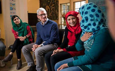 Apple and Malala Fund team up to support education for girls