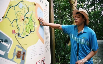 Singapore: Giang the adventurer: Grab's first blind coder makes the world see past limitations