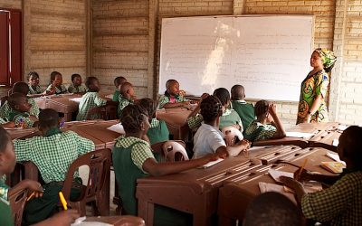 Only 39.4% primary school age children currently enrolled