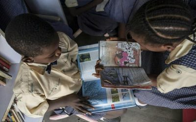 On the road with Nigeria's first mobile library