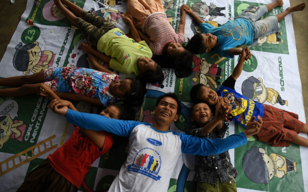 Indonesia: Malang center offers practical guidance, creative learning for Migrant children