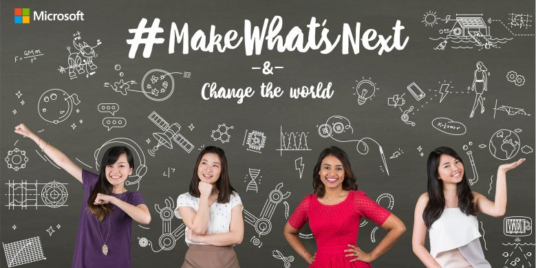 Microsoft celebrates International Women's Day by encouraging young women in Asia to #MakeWhatsNext
