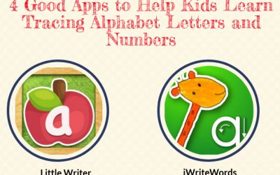 4 Good Apps to Help Kids Learn Tracing Alphabet Letters and Numbers