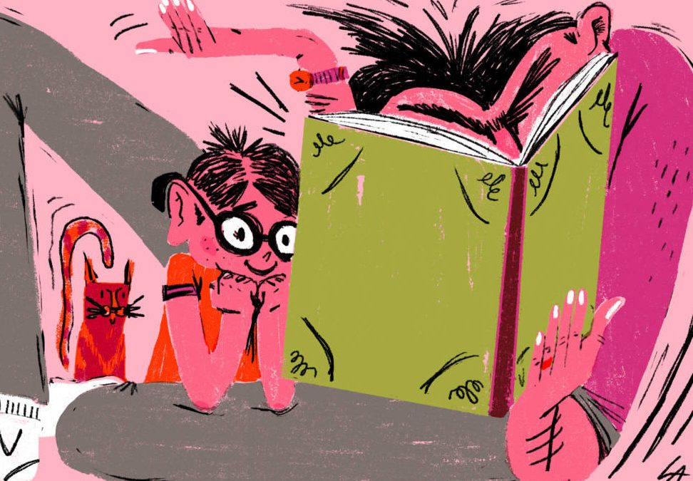 What Goes On In a Child's Brain When You Read Them A Story?