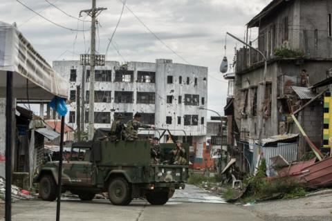 Marawi conflict one year on: More than 300,000 Filipinos still displaced, 30,000 children yet to return to school