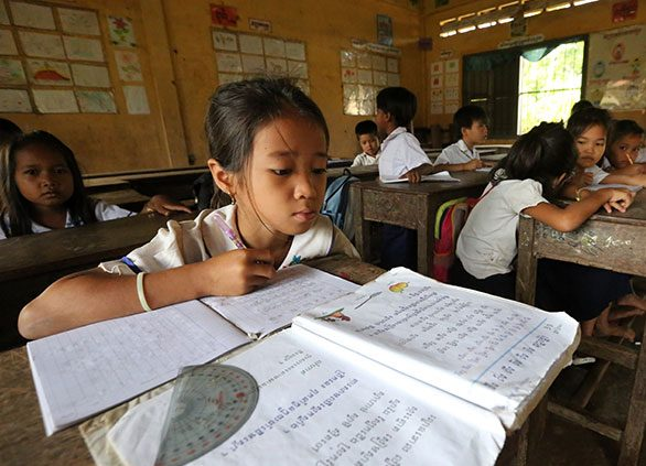 Cambodia: 20.6m Education grant targets disadvantaged children