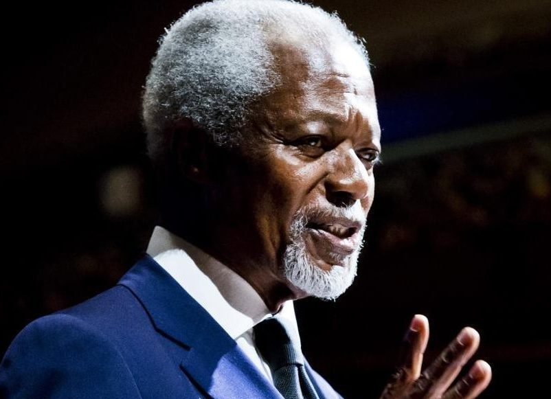 kofi annan knew the importance of education