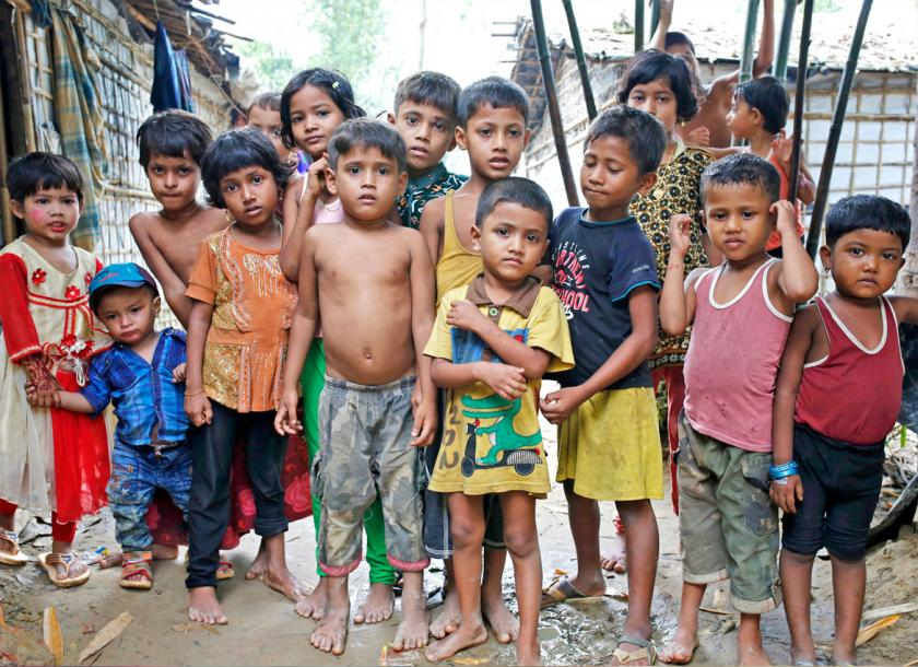 Education desperately needed for refugees in Cox's Bazar