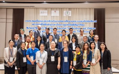 National Network Meeting on Education for Disadvantaged Children and Persons without Civil Registration or Non-Thai Persons