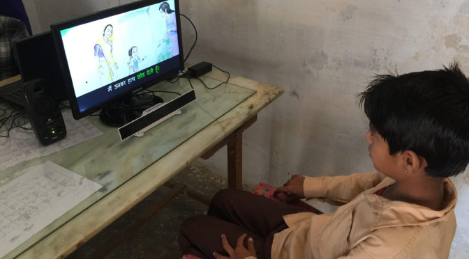 The Reading Revolution will be Televised: The Use of AniBooks in India