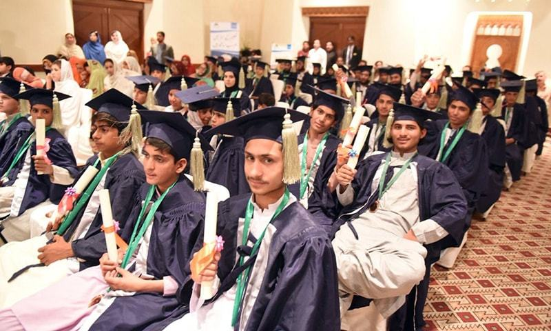 Pakistan: Accelerated learning programme gives hope to thousands of out-of-school children