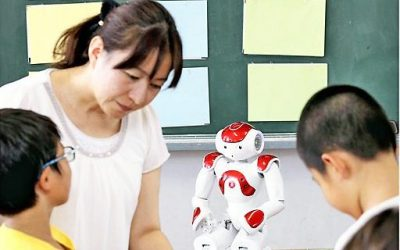 Robots land in English classrooms in Japan ahead of new curriculum