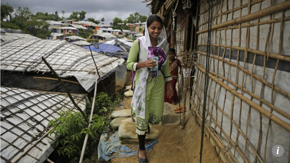 Rahima has lived her entire life in a Rohingya refugee camp – for her, education is the ticket to a normal life