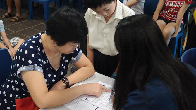 Singapore: What an effective parent-teacher meeting looks like