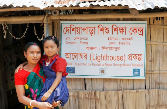 Light fading fast for Bangladeshi children