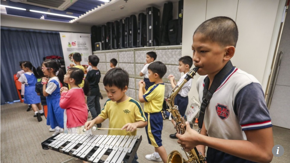 Music lessons for disadvantaged Hong Kong children bring hope and possibility of finding passion