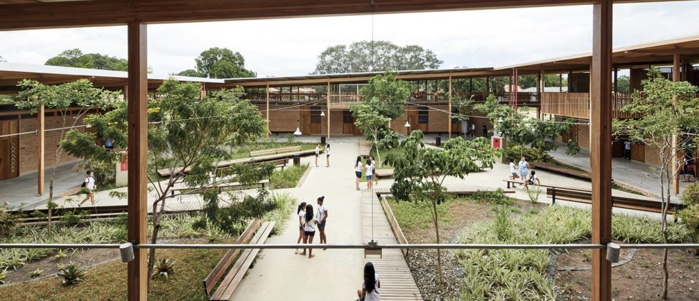 This Brazillian jungle school is the world's best new building